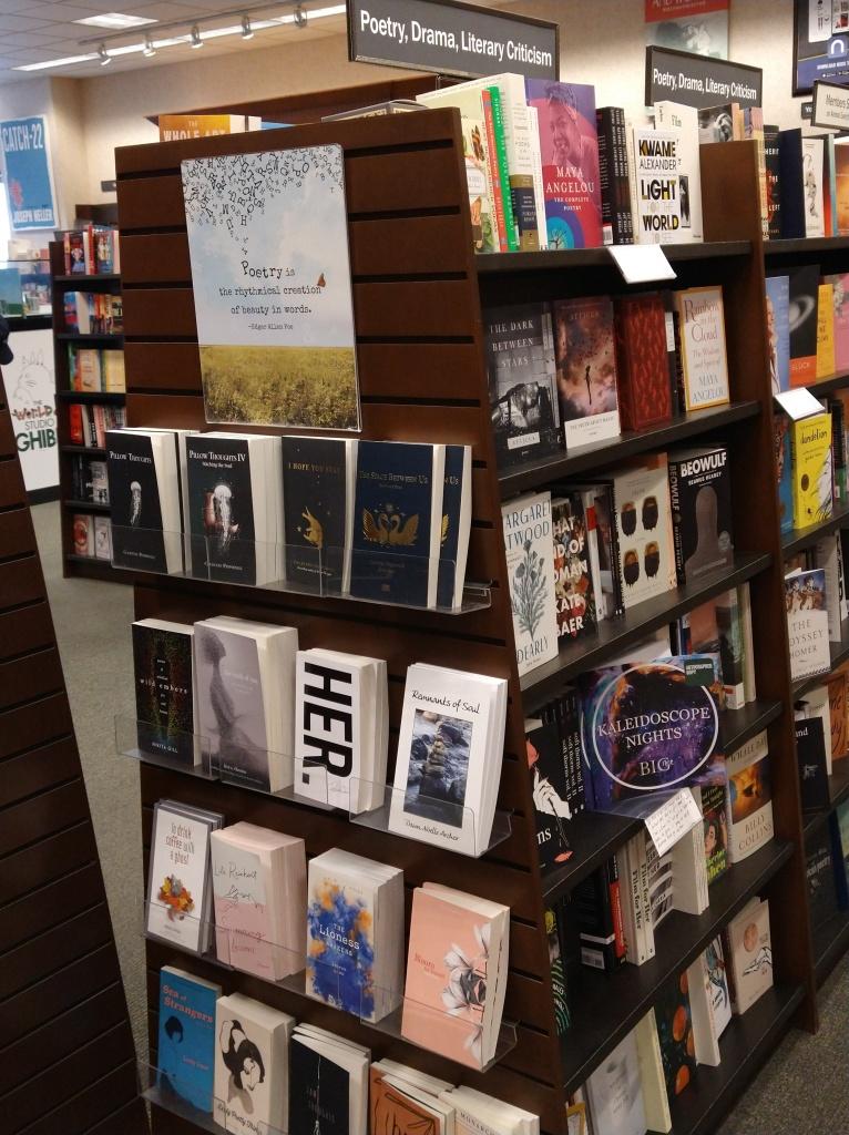 On the shelves at Bismarck Barnes & Noble